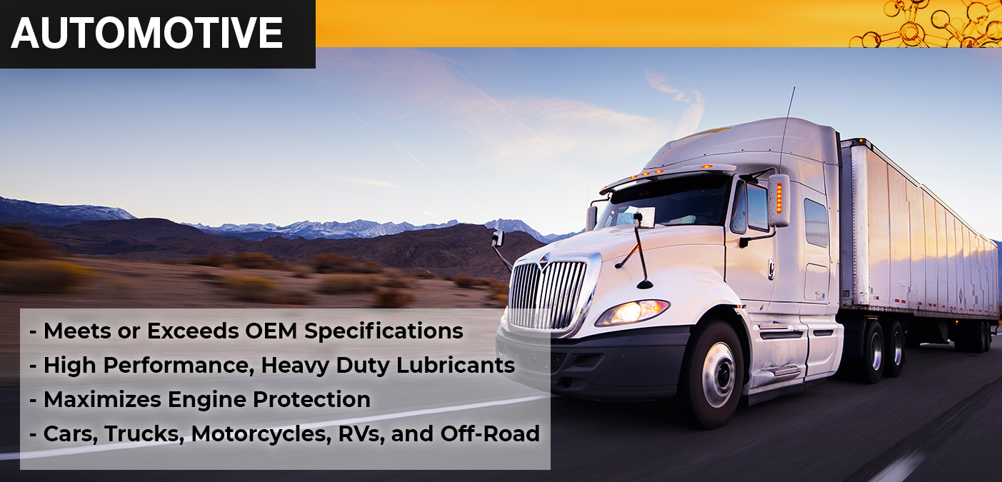 Automotive, truck, engine Lubricants